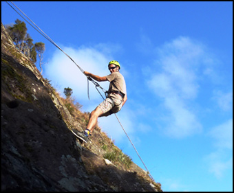 Jump Off A Cliff, Adventure Tourism, Northland, New Zealand
