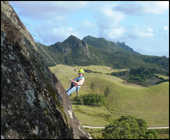 Jump Off A Cliff, Abseiling and rappelling Adventures, Whangarei, Northland, New Zealand